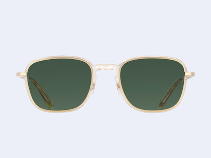 0bba1addaa2 Garrett Leight Pier Sun (Champagne-Gold with Semi-Flat Pure Green Lens)