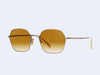 Mr Leight Shi S (Antique Gold-Moonstone with Kabocha Gradient Lens)