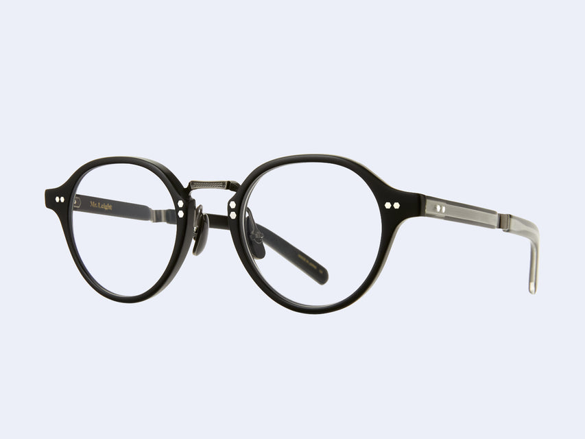 Mr Leight Spike C (Matte Black-Pewter)