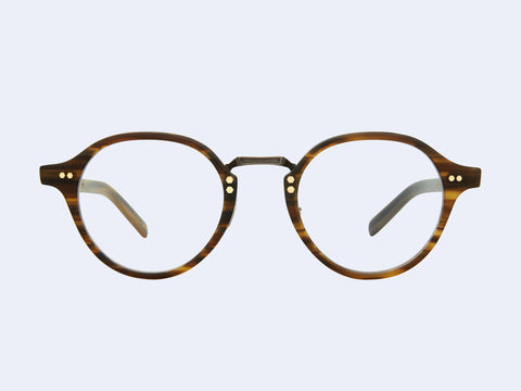 Mr Leight Spike C (Matte Driftwood-Antique Gold)