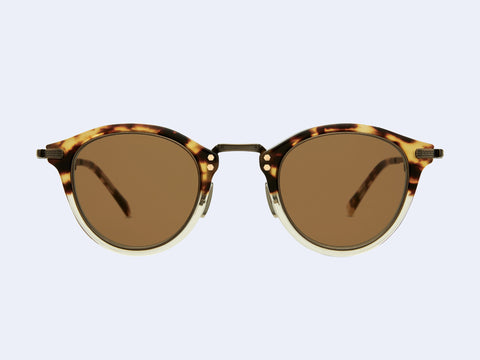 Mr Leight Stanley S (Demi Tortoise-Antique Gold-Tortoise with Brown Lens)