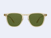 Garrett Leight Brooks Sun (Pure Glass with Pure Green Lens)