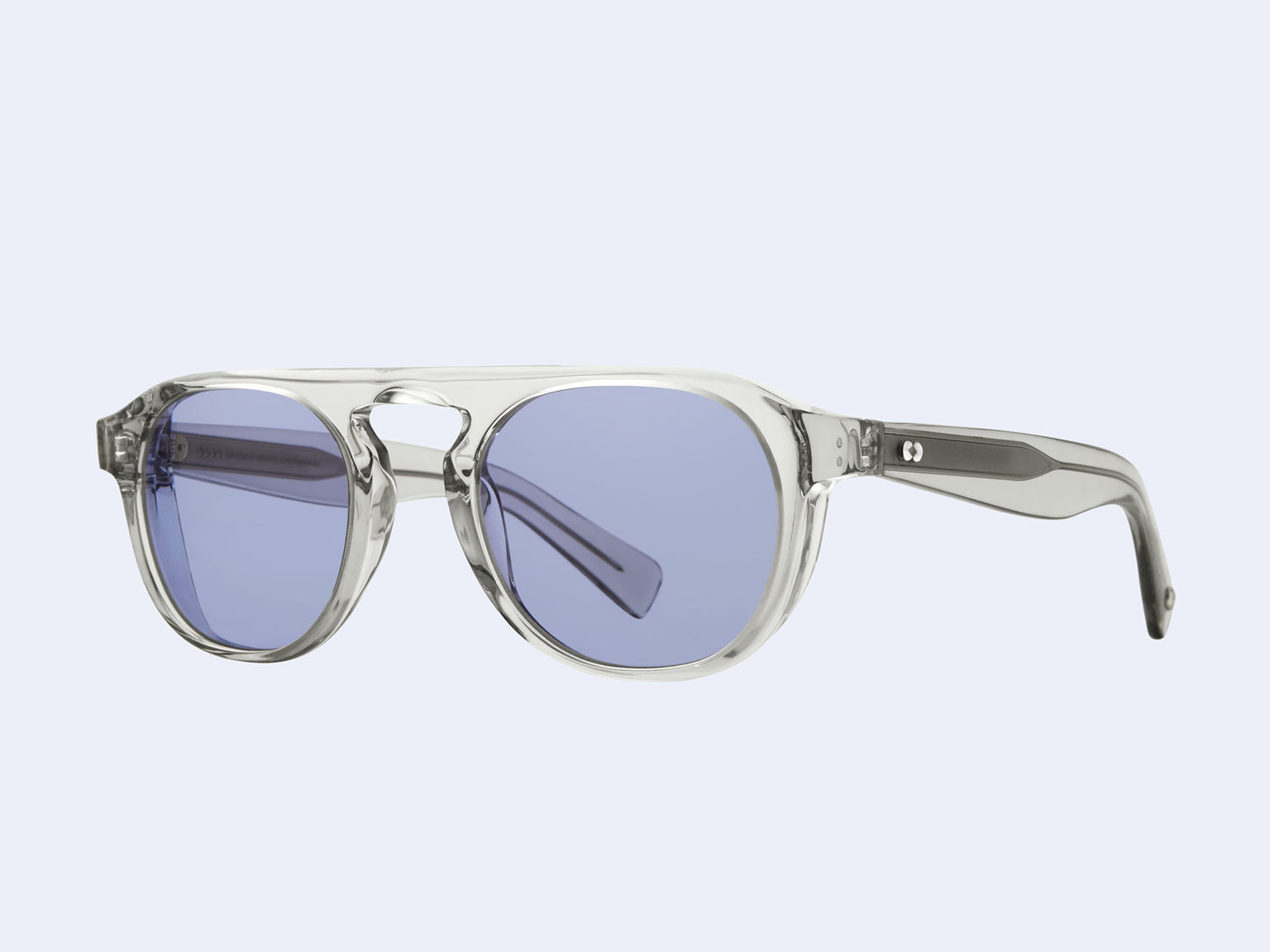 Garrett Leight Harding X Sun (LLG with Dreamboat Blue Lens)