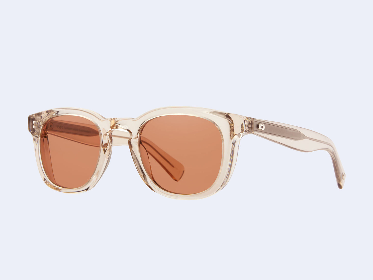 Garrett Leight Kinney X Sun (Shell Crystal with Sweetwater Lens)
