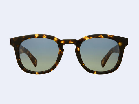 Garrett Leight Kinney X Sun (Tuscan Tortoise with Swimming Pool Gradient Lens)