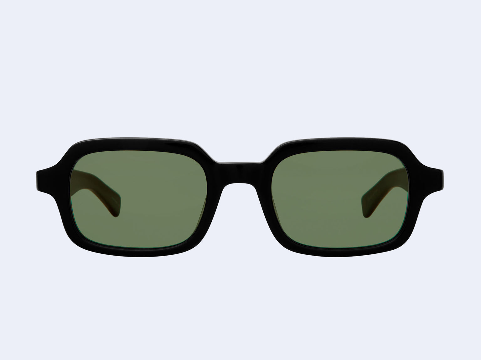 Garrett Leight Navarre (Black with Valley View Green Lens)