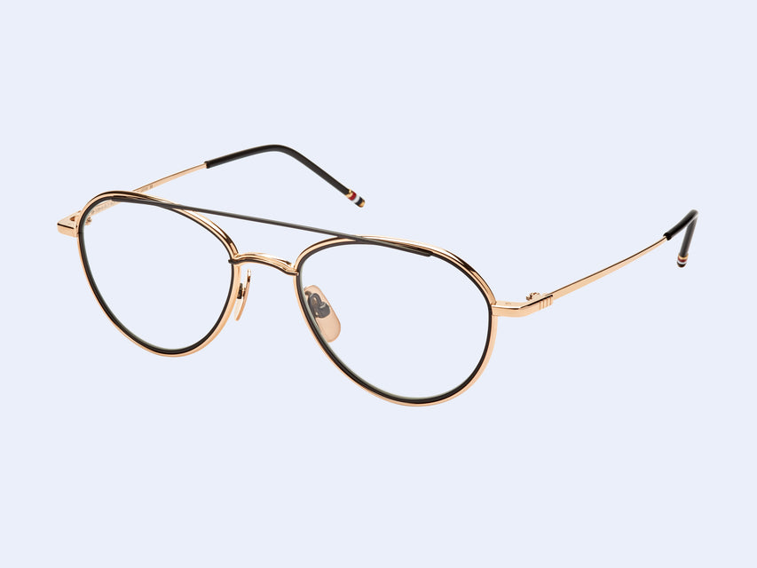 Thom Browne TB-109-A (Gold-Black)