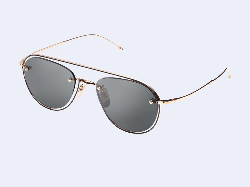 Thom Browne TB-112-02 Sun (Gold-Black)