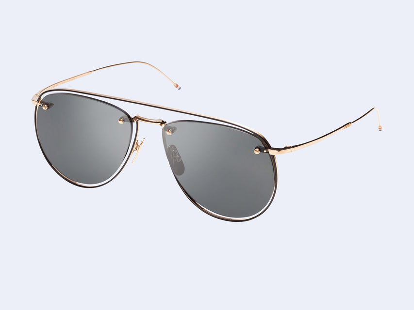Thom Browne TB-113-02 Sun (Gold-Black)
