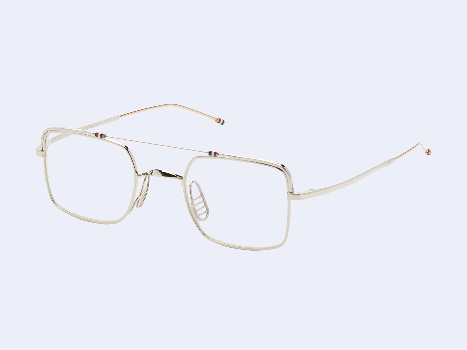 Thom Browne TB-909-02 (Silver White-Gold)