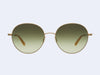 Garrett Leight Valencia Sun (Matte Gold-Blonde with Olive Gradient Lens)