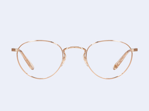 Garrett Leight Walgrove M (Rose Gold-Nude)