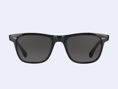 Garrett Leight Wavecrest (Black Laminate Crystal with Semi-Flat Black Polar Lens)