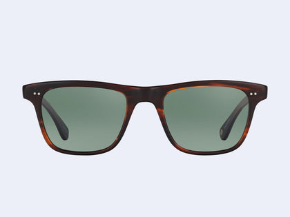 272dd996220 Garrett Leight Wavecrest (Matte Mahogany Tortoise with Semi-Flat Green Grey  Polar Lens)