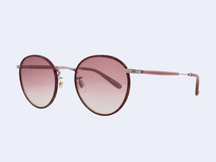 Garrett Leight Wilson Sun (Burgundy Marble with Matte Wine Mirror Lens)