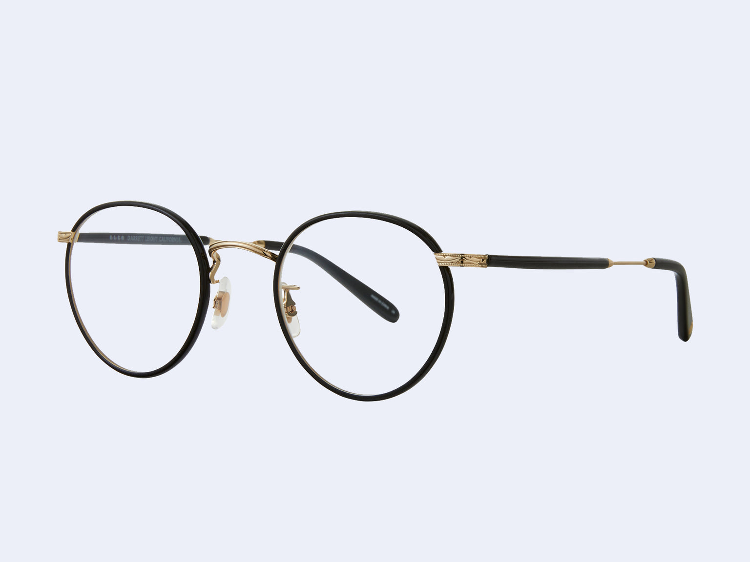 Garrett Leight Wilson (Black-Gold-Black)