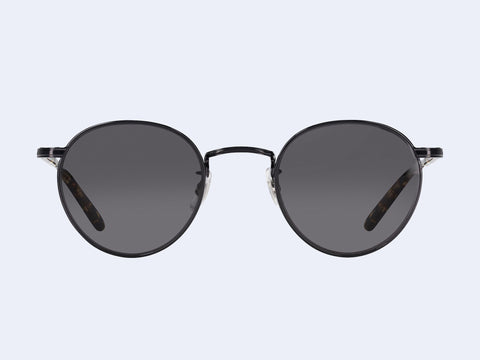 Garrett Leight Wilson M Sun (Black-Block Tortoise with Semi-Flat Midnight Lens)
