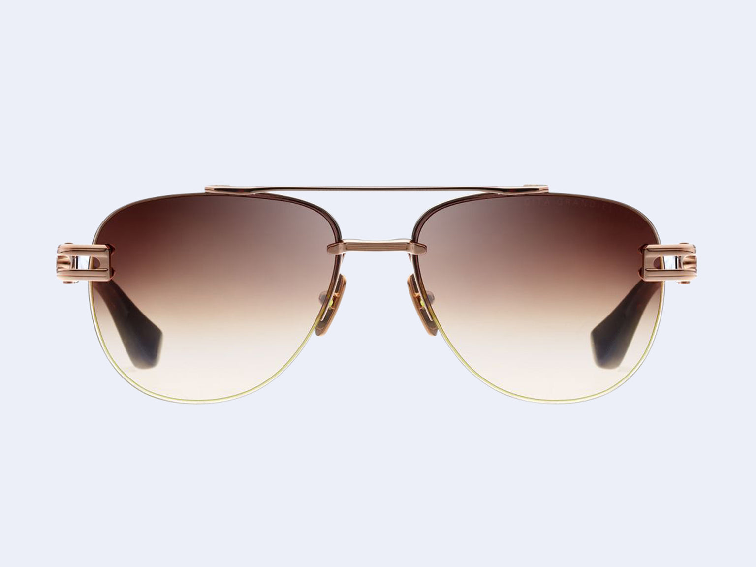DITA Grand-Evo Two (White Gold-Brown with Brown to Clear Lens)