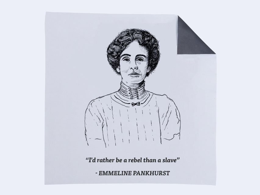Seen Cleaning Cloth (Charity / Emmeline Pankhurst)