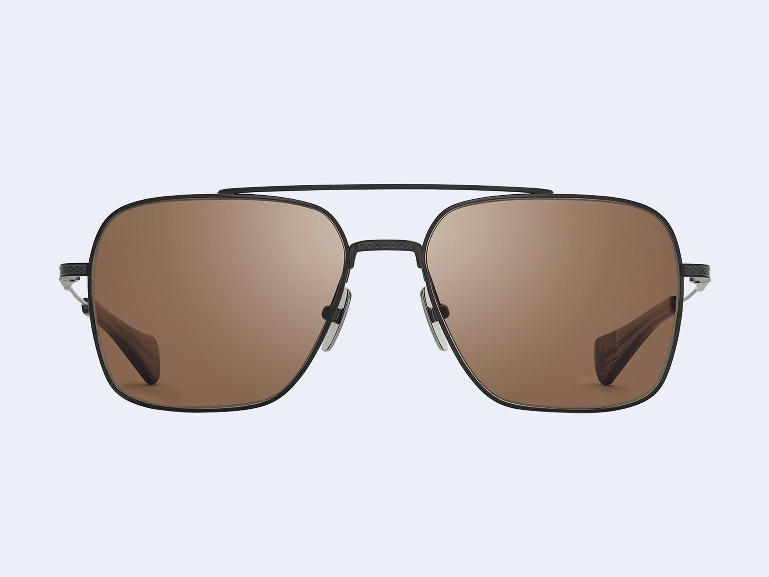DITA FLIGHT-SEVEN (Black Iron with Brown Lens)