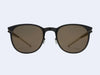 Mykita Truman Sun (Jet Black with Brilliant Grey Solid Lens)