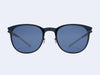Mykita Truman Sun (Night Sky with Sapphire Blue Flash Lens)