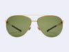 Mykita Dixon (Glossygold with Fern Polarized Lens)