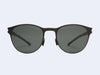 Mykita Zach Sun (Black with Black Polarised Lens)