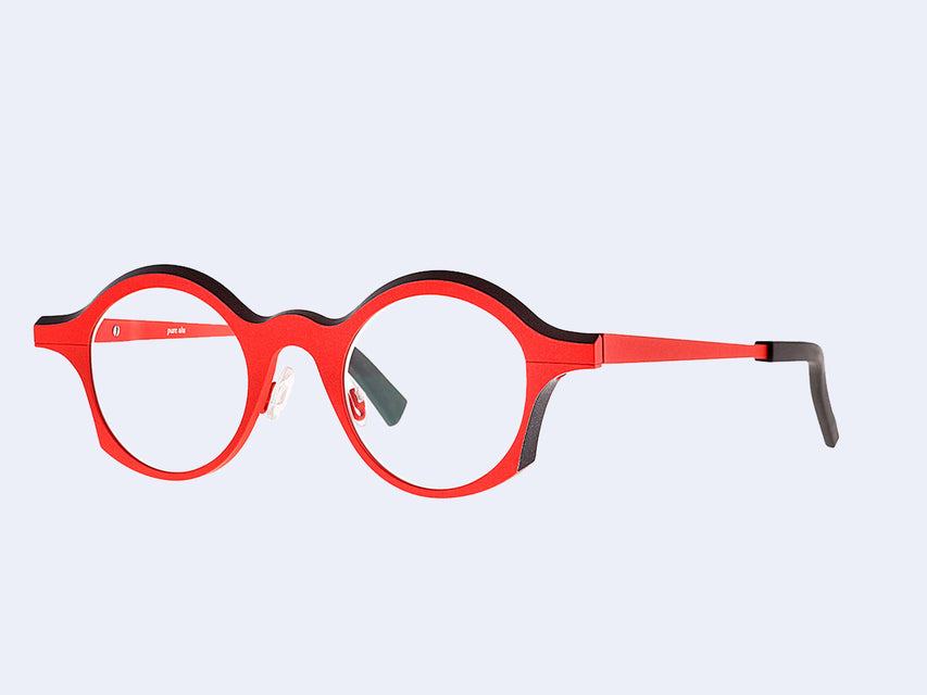 theo Apollo 430 (Matte Metallic Geranium Red and Black)