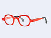 theo Awasa 7179 (Matte Metallic Geranium Red and Black)