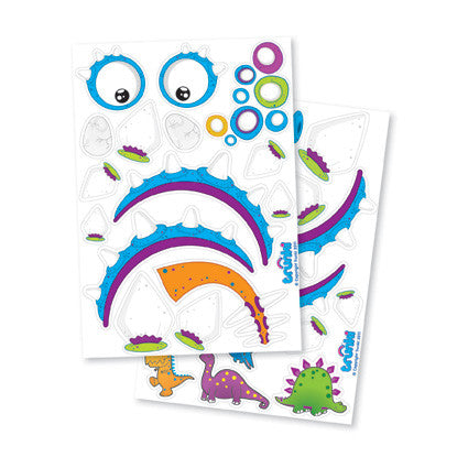 Blue Dino Sticker Pack - Trunki Australia