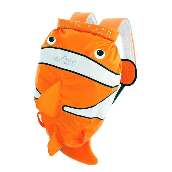 Chuckles the Clown Fish - Medium PaddlePak - Trunki Australia