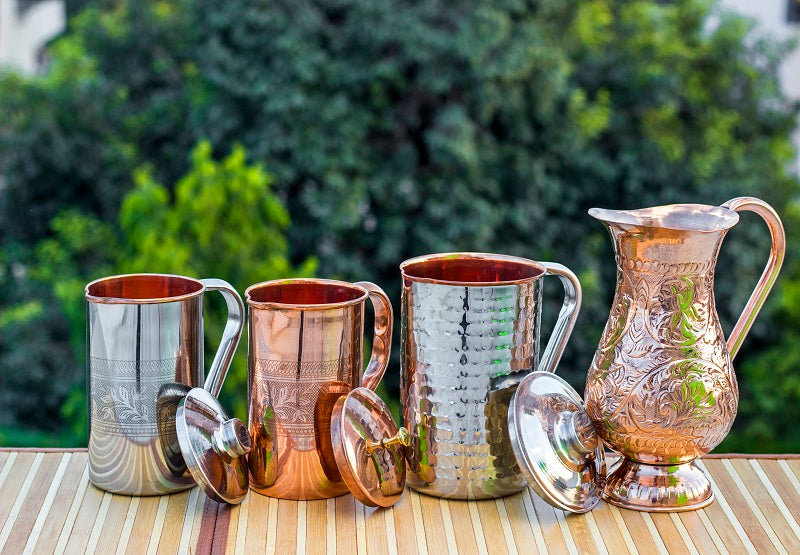 Copper Jugs Pitchers