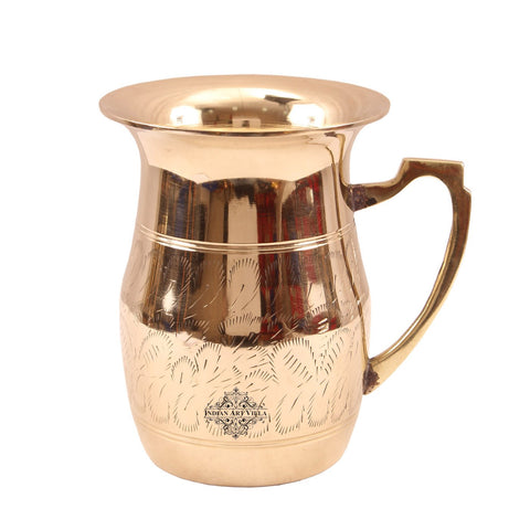 Brass Leak Proof Design Jug Pitcher 55 Oz