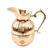 Brass Barrel Design Jug Serving 41 Oz