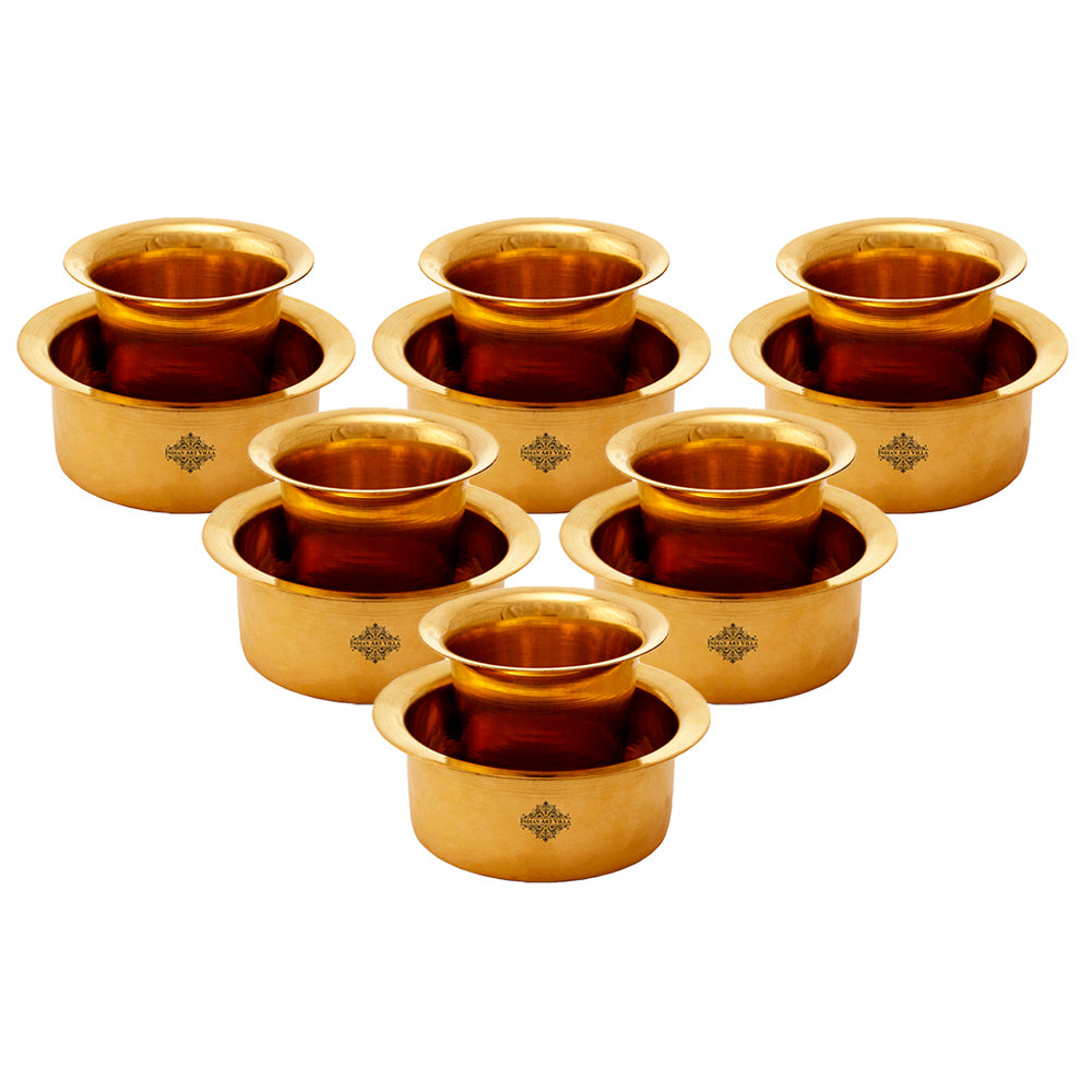 Brass Coffee Filter Maker Set of 6