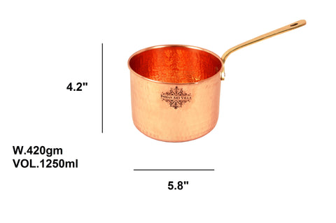 Pure Copper Pot Pan 42 Oz