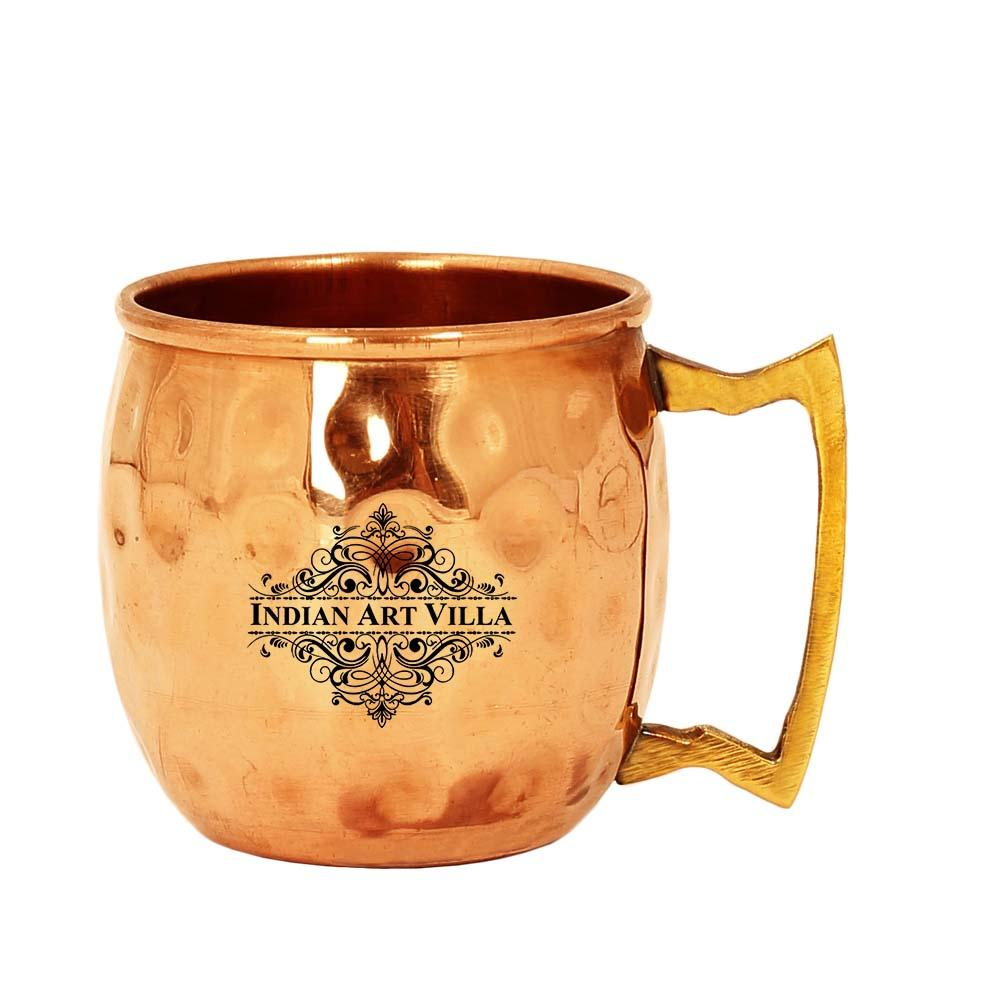 Copper Shot Round Mug CupServing Drinking Vodka Taquila Shots
