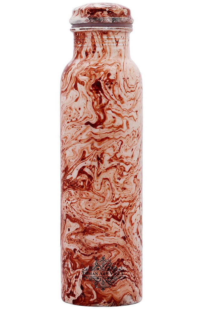 Copper Marble Design water Bottle , 33 Oz