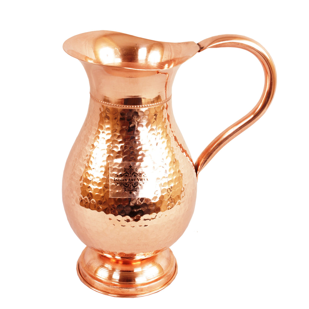 Copper Royal Hammer Jug - 59 Oz and 55 Oz