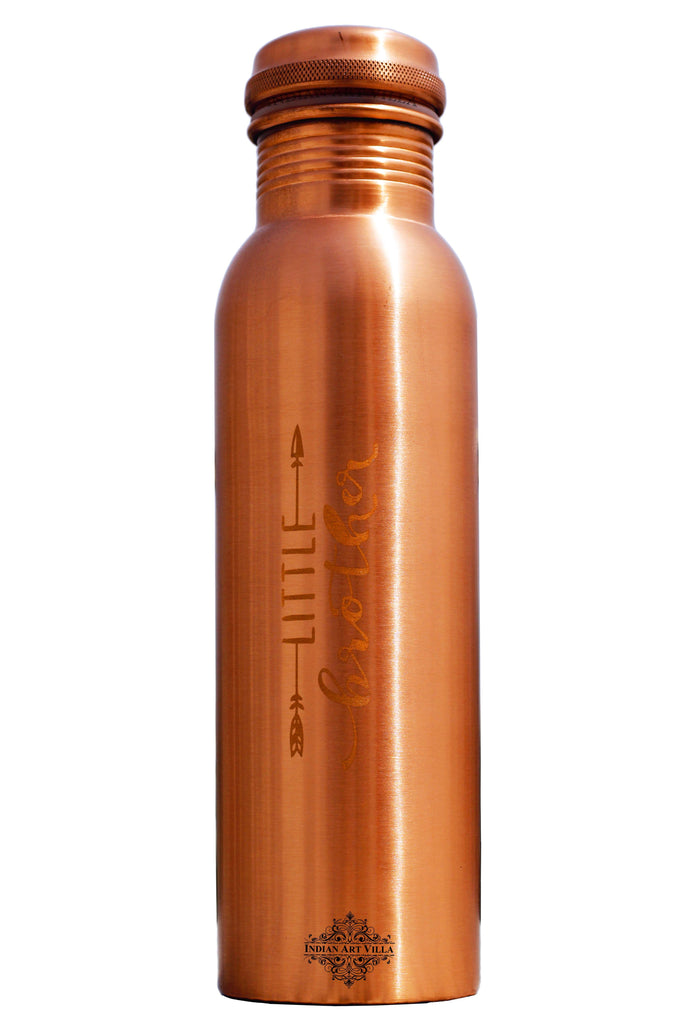 Copper Lacquer Bottle Engraved Bottle (Little Brother)