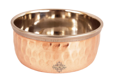 Handmade Steel Copper Bowl Katori 5 Oz