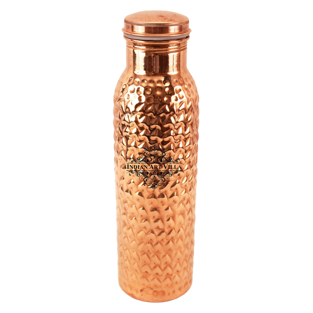 Copper Heart Design Leak Proof Water Bottle
