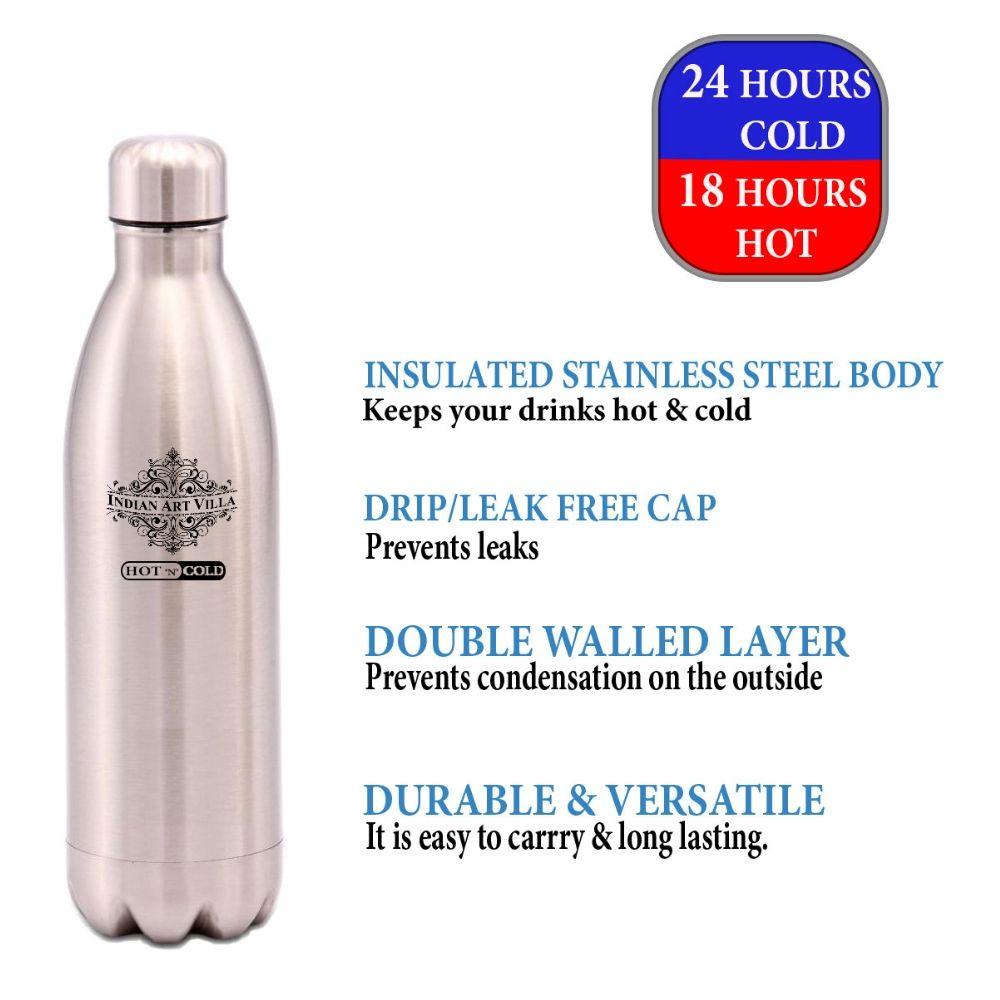 Steel Insulated Vaccum Bottle, 16 Oz | 25 Oz | 33 Oz | 50 Oz