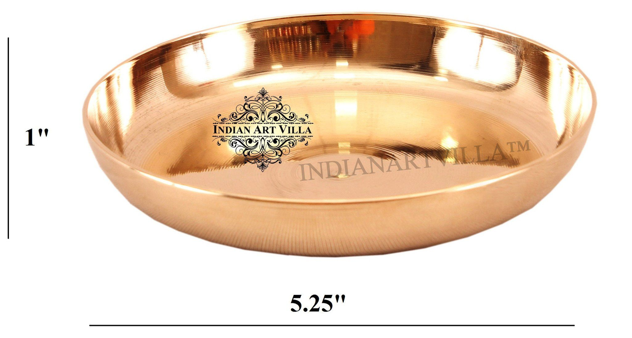 Best Quality Bronze Plate ( 5 Sizes )