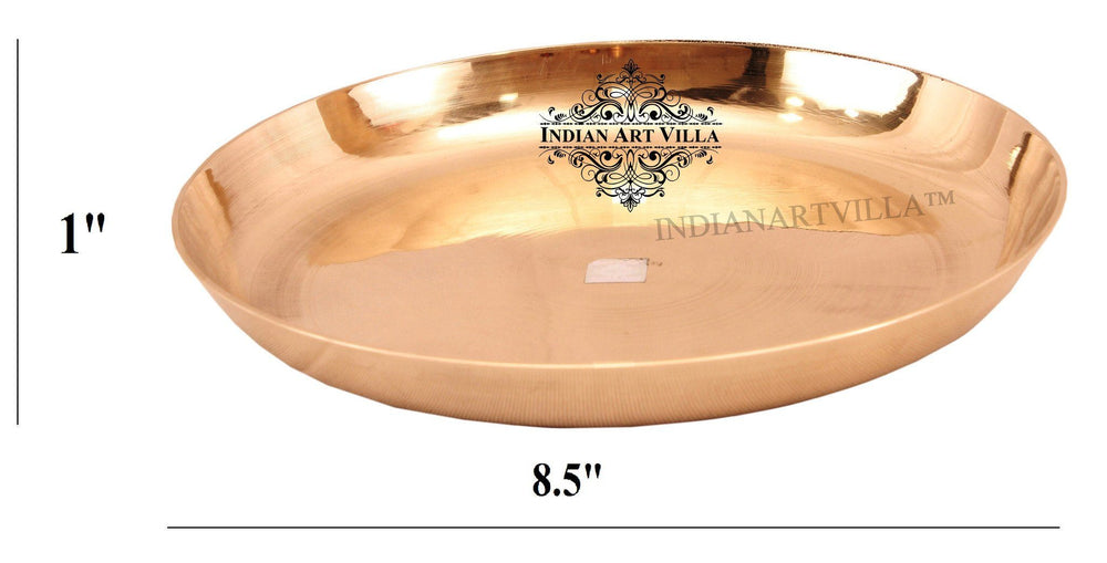 "Best Quality Bronze Plate ( 5 Sizes ) Bronze Plates IAV-K-1-125- 8.5"" Inch Width"