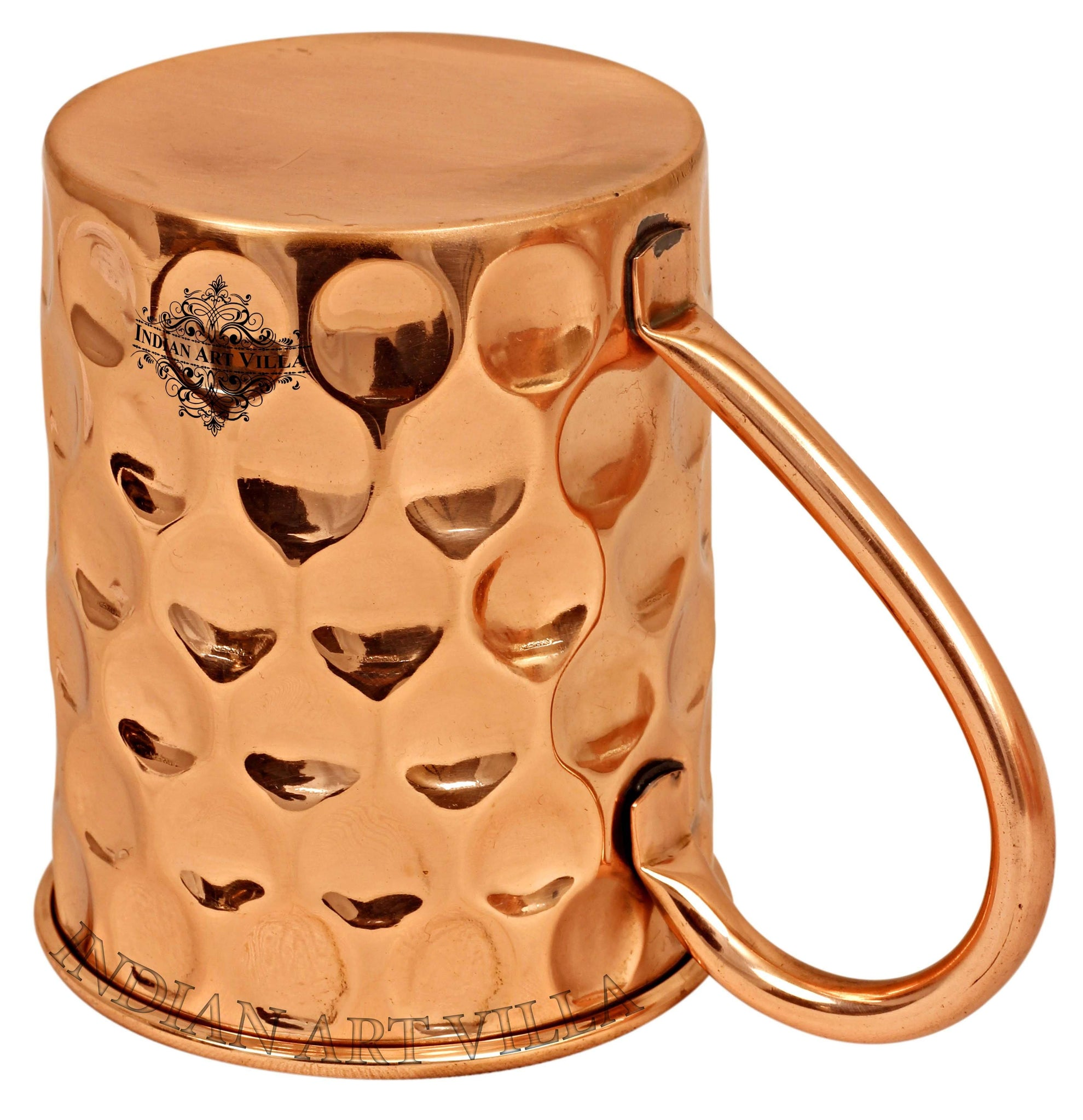 Big Diamond Design Copper Beer Muscow Mule Mug - 500 ML