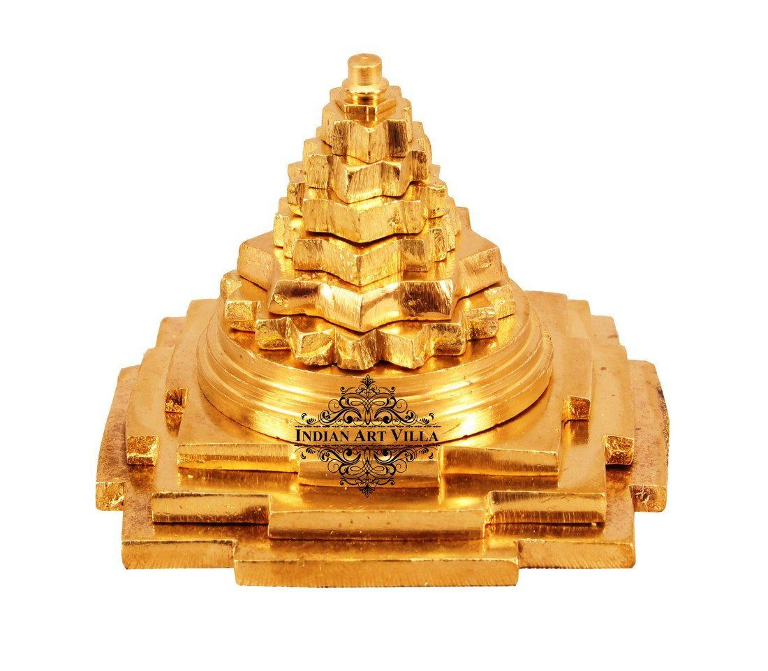 Brass Handmade Three Stage Vastu Pyramid