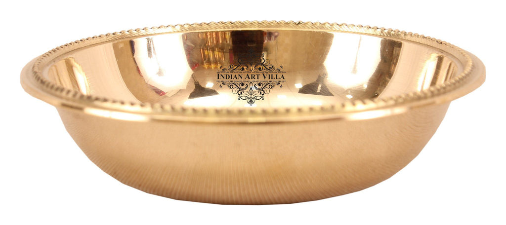 Brass Serving Bowl 3 Oz