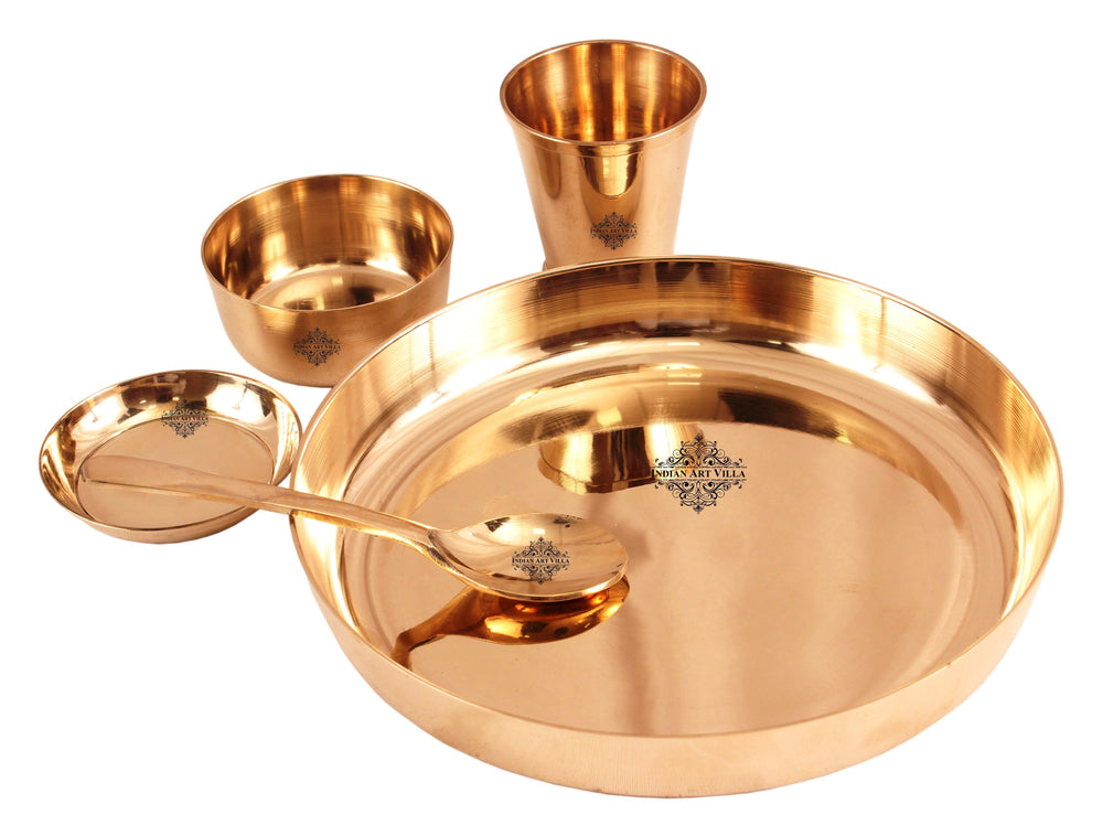 Bronze 5 Piece Dinner Set Bronze Dinner Sets IAV-KB-TW-114